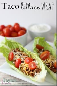 Lettuce Wrap, Taco Lettuce Wrap, Easy Recipes
