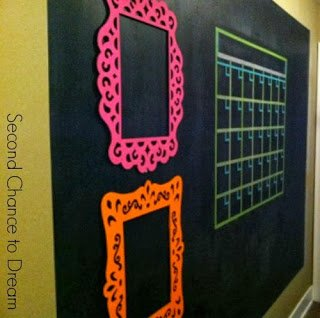 chalkboard+wall {Featured On}