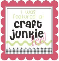 craft.junkie.pink .featured {Featured On}
