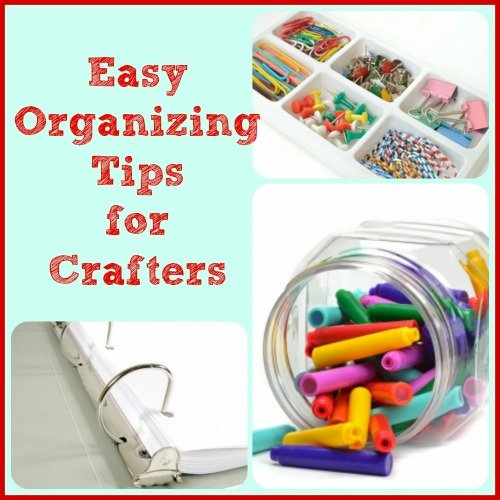 crafting organization {Featured On}