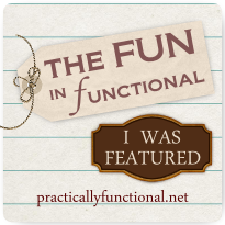 fun featured button {Featured On}