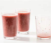 Double Berry Smoothie