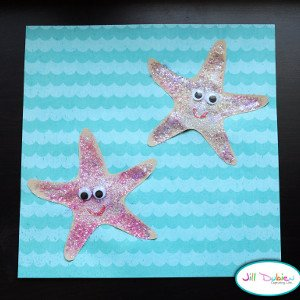 Sandy the Starfish Beach Craft