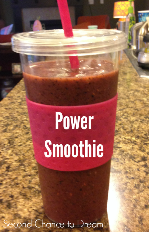 Second Chance to Dream:  How to make a Power Smoothie #smoothie