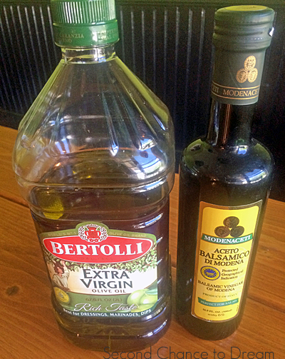 Second Chance to Dream: Balsamic Olive-Oil