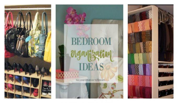 Second Chance to Dream: Bedroom Organization Ideas #organization