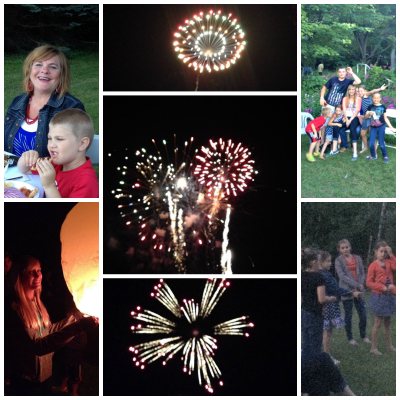 Memorial Service4th of July Collage