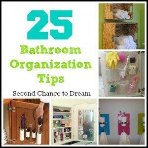 Second Chance to Dream: Bathroom Organization