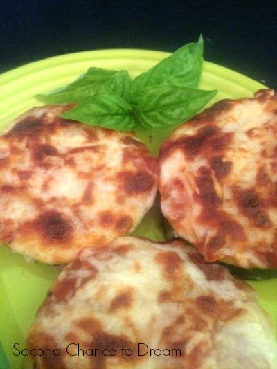 Second Chance to Dream:  Zucchini Pizza bites