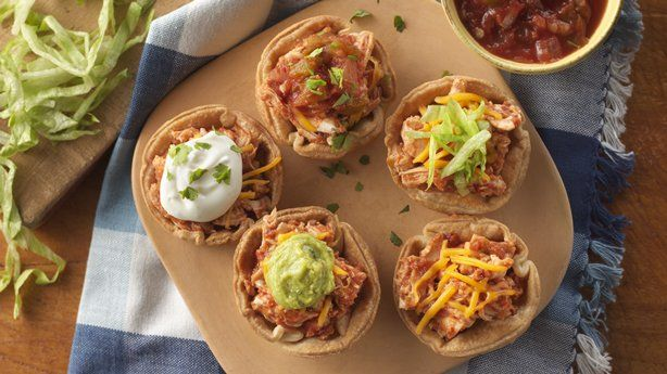 Chipotle Chicken Pie Cups