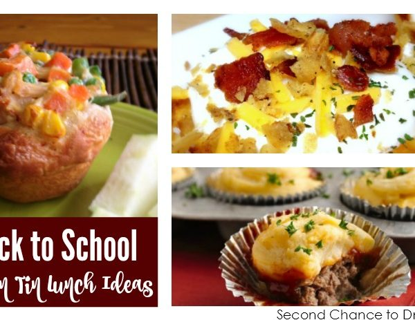 Second Chance to Dream: Back to School Muffin Tin Recipes #backtoschool #muffintins It's Back to School season and these Muffin Tin Recipes are perfect for Back to School Lunches. Make them ahead and be organized.