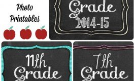 Second Chance to Dream: Back to School Photo Printables.