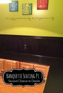 Banquette Seating Part 1