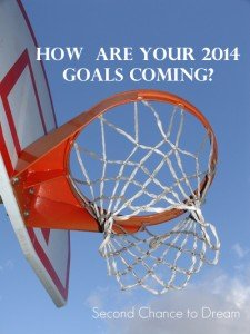 How are your 2014 goals coming??