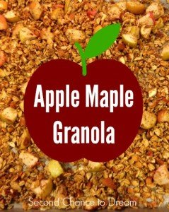 Apple Maple Granola