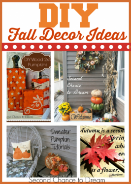 Second Chance to Dream: DIY Fall Decor Ideas #falldecor