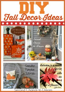 Second Chance to Dream: DIY Fall Decor Ideas #falldecor