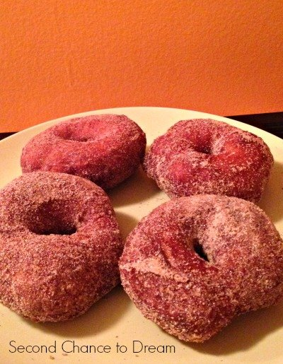 finished doughnuts