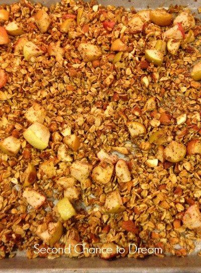 granola finished
