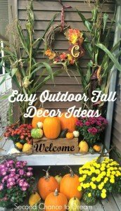 Easy Outdoor Fall Decor