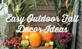 Easy Outdoor Fall Decor Ideas
