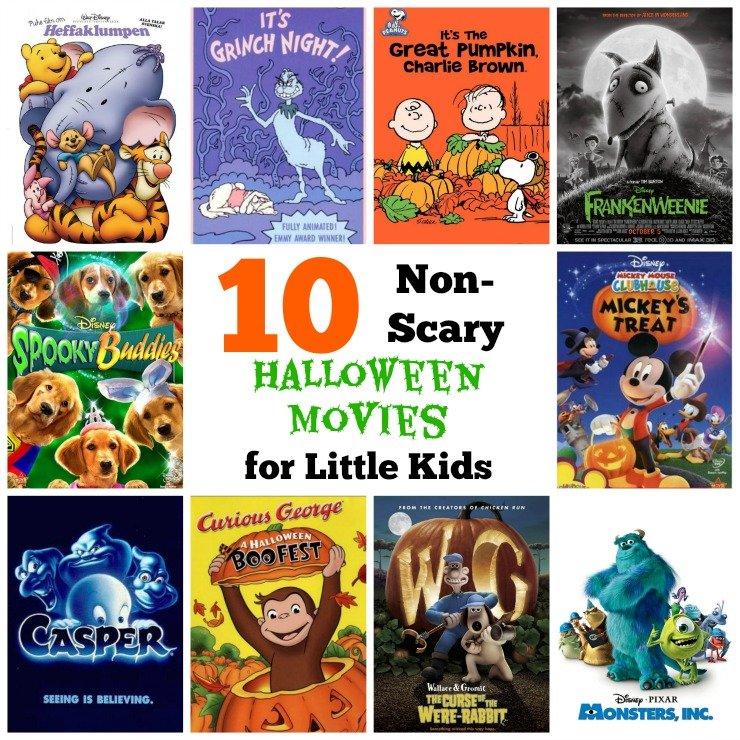 toddler-friendly halloween movie