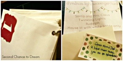 Second Chance to Dream: Advent Envelope Activities