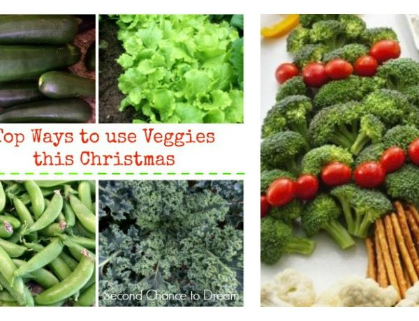 Second Chance to Dream: Top Ways to use Veggies this Christmas