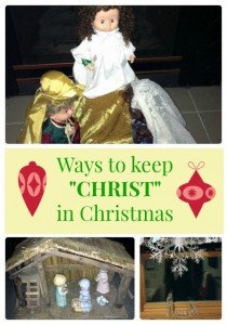 "Ways to Keep ""Christ"" in Christmas"