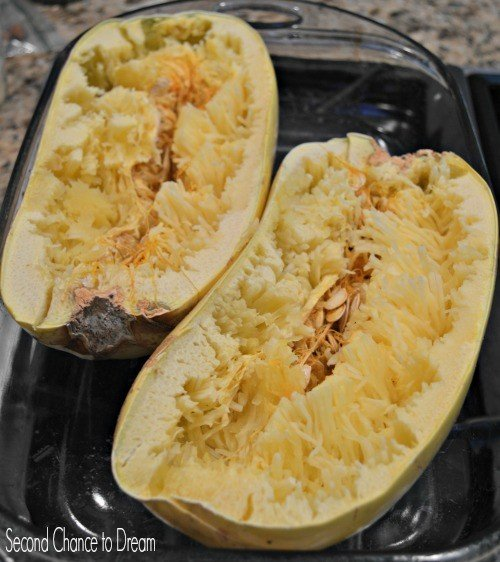 Second Chance to Dream: Baked spaghetti squash