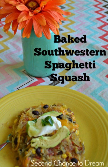 Second Chance to Dream: Baked Southwestern Spaghetti Squash