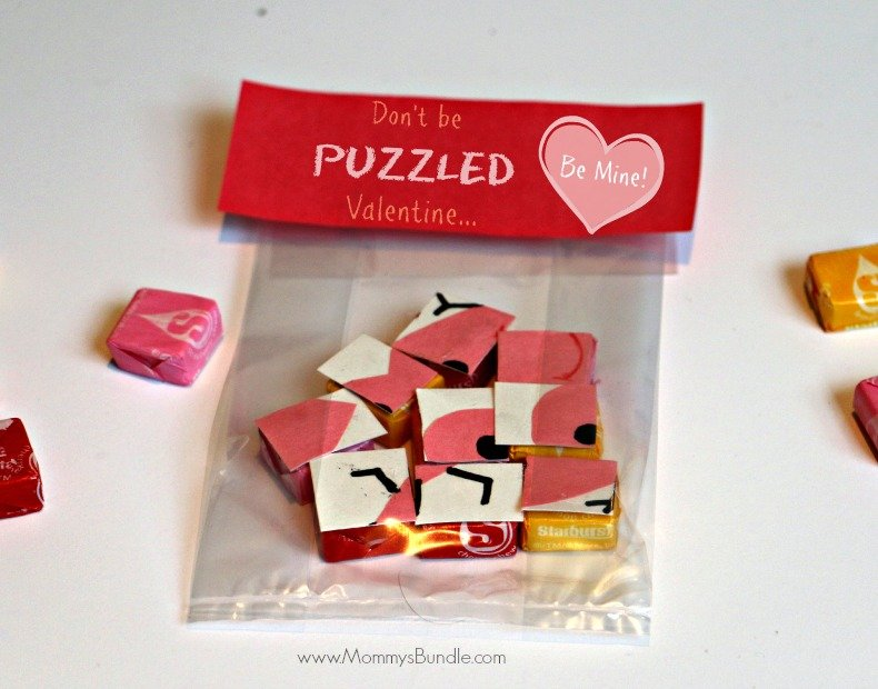 Don't be puzzled Valentine