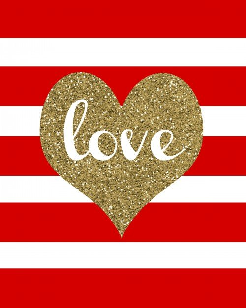 Second Chance to Dream: Gold Glitter Love