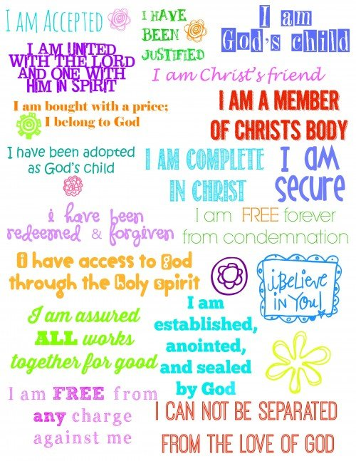 Who I am in Christ Journal 1