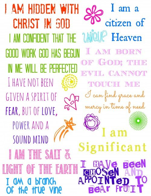 Who I am in Christ Journal 2