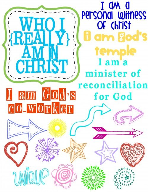 Who I am in Christ Journal 3