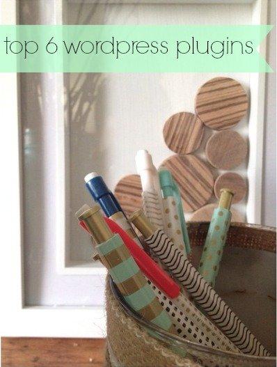 Top 6 WordPress Plugins