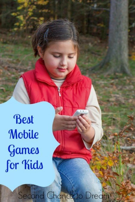 Second Chance to Dream: Best Mobile Games for Kids #TechGadgets