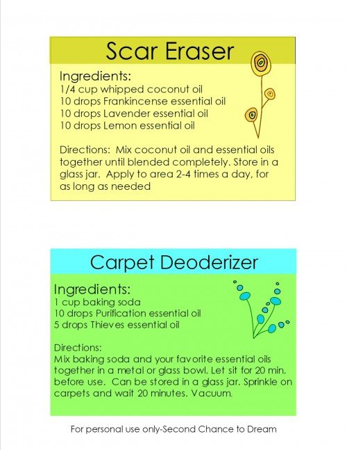 Essential oil cards 3