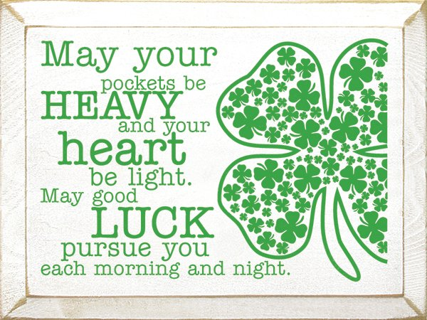 May your pockets be heavy | APeekIntoMyParadise.com #StPatricks #giveaway