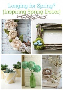 Longing for Spring… Inspiring Spring Decor
