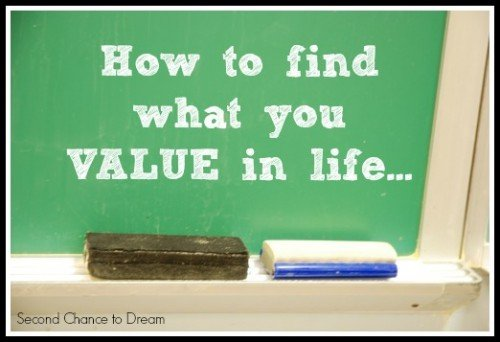 Second Chance to Dream:  How to find what you value in life...