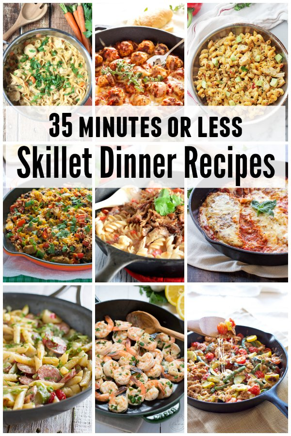 35-minutes-or-less-skillet-dinner-recipes