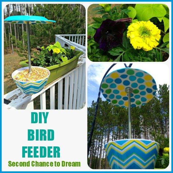 Second Chance to Dream: DIY Bird Feeder
