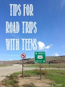 Second Chance to Dream: Tips for Road Trips with Teens