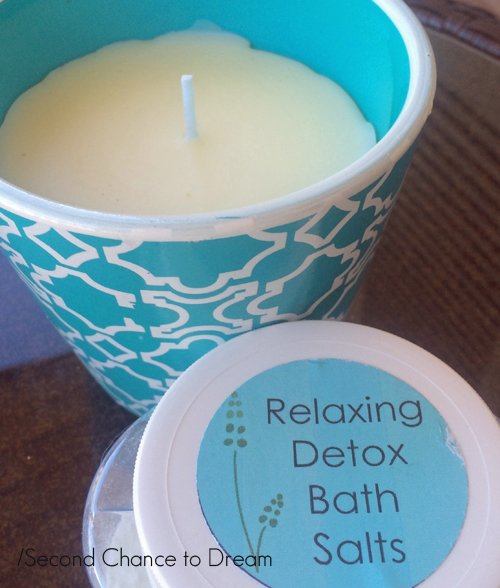 Second Chance to Dream: Relaxing Detox Bath Salts