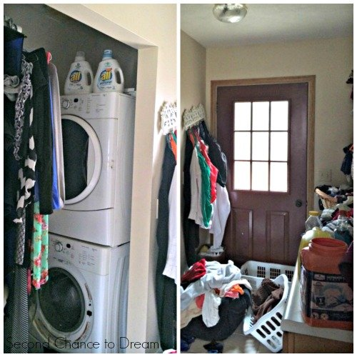 Second Chance To Dream Organized Laundry Spaces And My