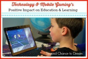 Technology & Mobile Gaming's Positive Impact on Education & Learning