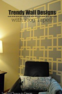 Trendy Wall Designs with Frog Tape@