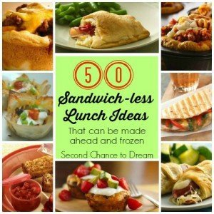 50 Sandwich-less Lunch Ideas